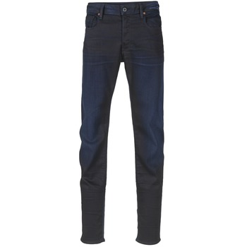 Vêtements Homme Jeans slim G-Star Raw 3302 SLIM Dark Aged Slander Super Stretch Denim
