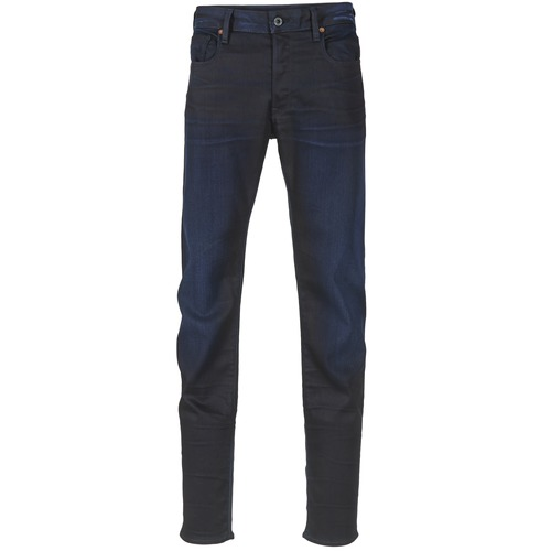 Vêtements Homme Jeans slim G-Star Raw 3301 SLIM Dark Aged Slander Super Stretch Denim