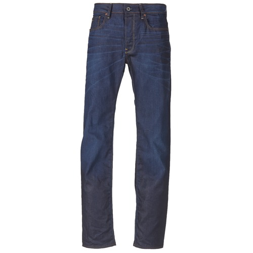 Vêtements Homme Jeans droit G-Star Raw 3301 STRAIGHT Hydrite Denim Dk Aged