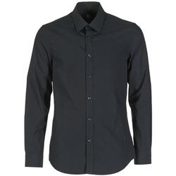 Vêtements Homme Chemises manches longues G-Star Raw CORE Noir