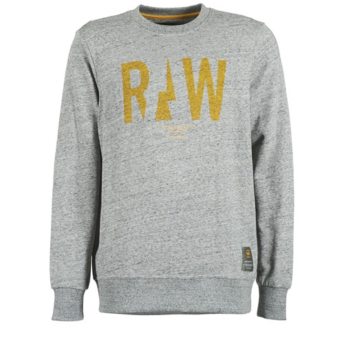 Vêtements Homme Sweats G-Star Raw RIGHTREGE R SW L/S Gris