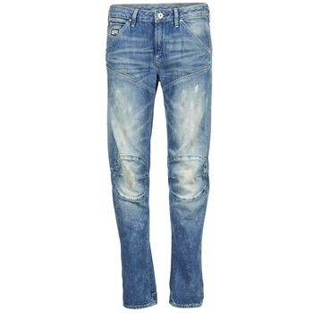 Vêtements Femme Jeans droit G-Star Raw 5620 3D LOW BOYFRIEND WMN Medium Aged Painted Scatter Denim