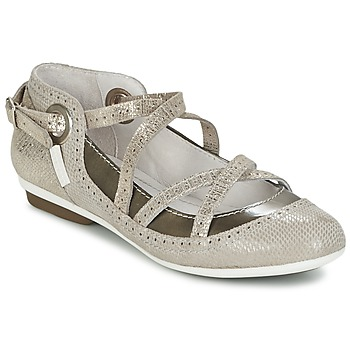 Chaussures Femme Ballerines / babies Pataugas TOTEM Taupe