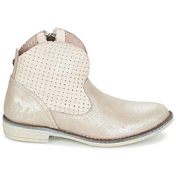 Boots enfant Ikks CINDY - Boots enfant Ikks  CINDY  Argenté.