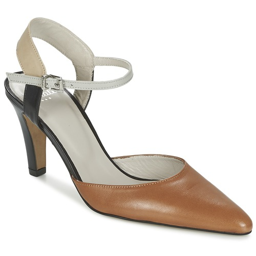 Chaussures Femme Sandales et Nu-pieds Perlato ANTELLA Cognac