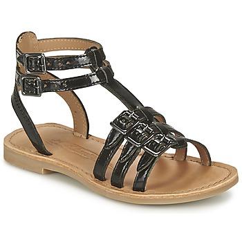 Chaussures Fille Sandales et Nu-pieds Shwik LAZAR BUCKLE Noir
