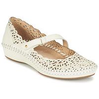 Chaussures Femme Ballerines / babies Pikolinos PUERTO VALLARTA 655 Blanc