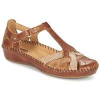 Chaussures Femme Sandales et Nu-pieds Pikolinos PUERTO VALLARTA 655 Camel