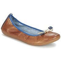 Chaussures Femme Ballerines / babies Pikolinos BORA BORA Camel