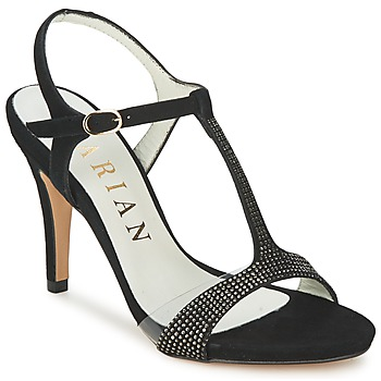 Chaussures Air max tnFemme Sandales et Nu-pieds Marian ANTE FINO Noir