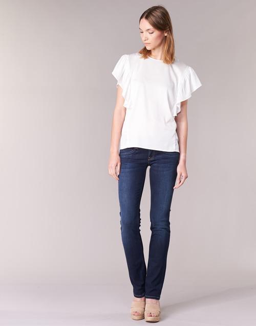 Vêtements Femme Jeans droit Pepe jeans GEN Bleu H06