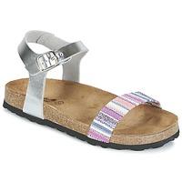Chaussures Air max tnFille Sandales et Nu-pieds Citrouille et Compagnie IGUANA Argent / Multicolore