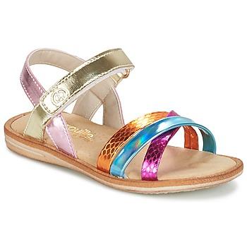 Chaussures Fille Sandales et Nu-pieds Citrouille et Compagnie MINIRAVI Multicolore