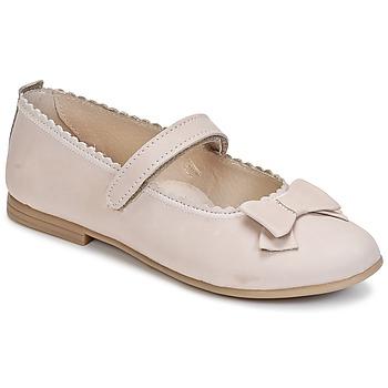 Chaussures Fille Ballerines / babies Citrouille et Compagnie PAPILLONE Creme