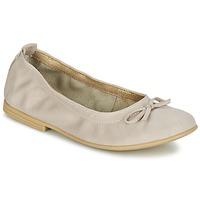 Chaussures Fille Ballerines / babies Citrouille et Compagnie JAPPALIE MOCA Creme
