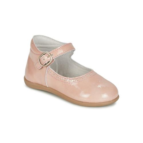 Chaussures Fille Ballerines / babies Citrouille et Compagnie BOUJBOUJ Rose