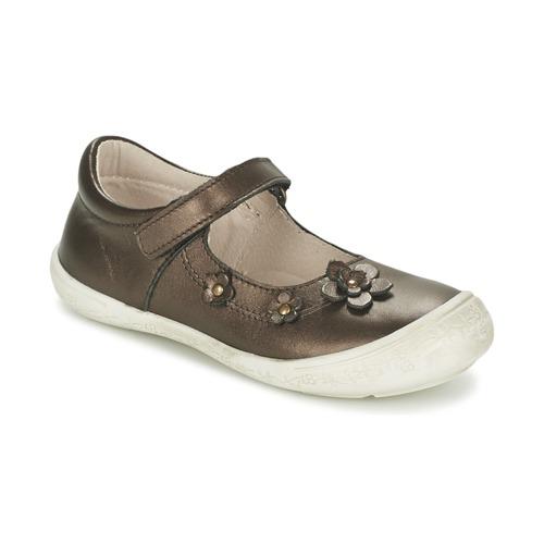 Chaussures Fille Ballerines / babies Citrouille et Compagnie MELINA BIS Marron irisé