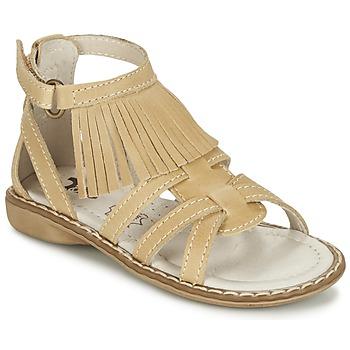 Chaussures Fille Sandales et Nu-pieds Citrouille et Compagnie CONQUITA Beige