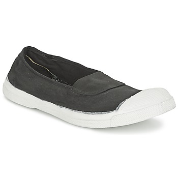 Ballerines Bensimon TENNIS ELASTIQUE Carbone