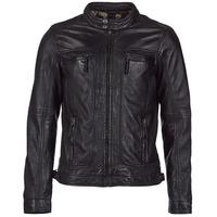 Vêtements Homme Vestes en cuir / synthétiques Oakwood CASEY Noir