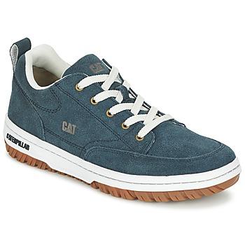 Chaussures Homme Baskets basses Caterpillar DECADE SUEDE Bleu nuit