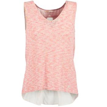 Vêtements Femme Débardeurs / T-shirts sans manche Les P'tites Bombes NODOLA Corail