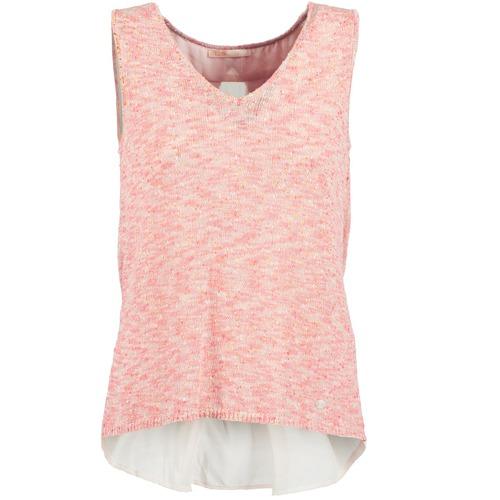 Vêtements Femme Débardeurs / T-shirts sans manche Les Petites Bombes NODOLA Corail
