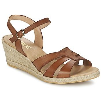 Chaussures Femme Sandales et Nu-pieds So Size ELIZA Marron
