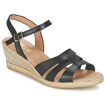 Chaussures Femme Sandales et Nu-pieds So Size ELIZA Noir