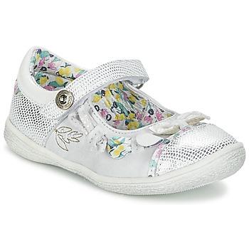 Chaussures Fille Ballerines / babies Catimini COLIBRI Argent