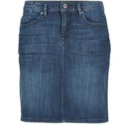 Vêtements Femme Jupes Esprit MAFGA Bleu Médium
