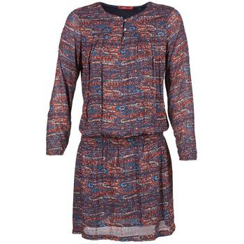 Vêtements Femme Robes courtes Esprit AGAROZA Marine / Multicolore