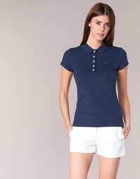 Vêtements Femme Polos manches courtes Tommy Hilfiger NEW CHIARA Marine
