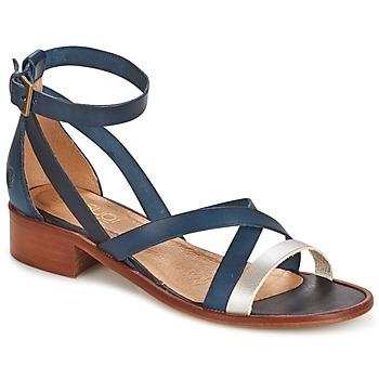 Sandale Casual Attitude COUTIL Bleu