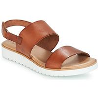 Chaussures Air max tnFemme Sandales et Nu-pieds Casual Attitude FULIGULE Camel