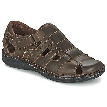 Chaussures Air max tnHomme Sandales et Nu-pieds Casual Attitude ZIRONDEL Marron