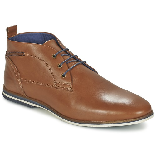 Chaussures Homme Boots Casual Attitude MANXIO Marron