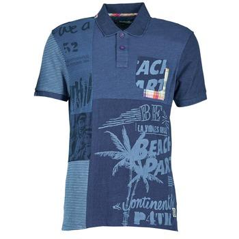 Vêtements Homme Polos manches courtes Desigual BELUDINE Bleu