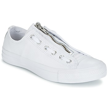 Chaussures Homme Baskets basses Converse CHUCK TAYLOR ALL STAR MA-1 ZIP MILITARY LEATHER OX Blanc