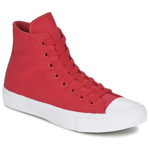 Chaussures Baskets montantes Converse CHUCK TAYLOR ALL STAR II  HI Rouge