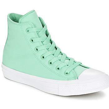 Chaussures Baskets montantes Converse CHUCK TAYLOR All Star II NEON HI Vert