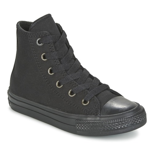 Chaussures Enfant Baskets montantes Converse CHUCK TAYLOR ALL STAR II TENCEL CANVAS HI Noir