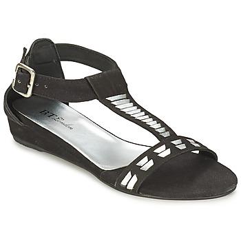 Chaussures Femme Sandales et Nu-pieds Betty London BLACA Noir