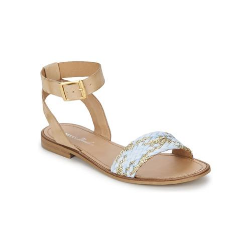 Chaussures Femme Sandales et Nu-pieds Betty London TRESSA Bleu
