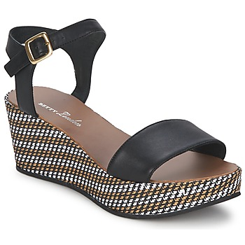 Sandales et Nu-pieds Betty London PRETA