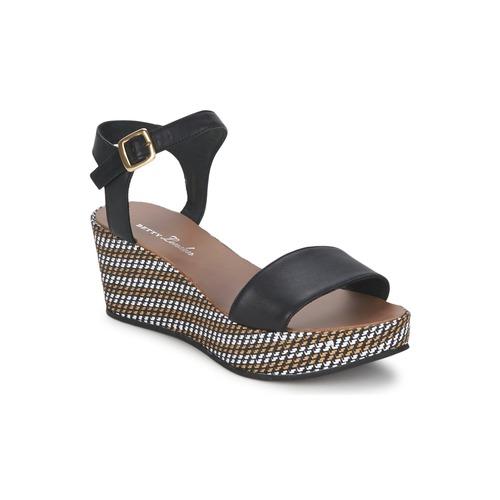 Chaussures Femme Sandales et Nu-pieds Betty London PRETA Noir