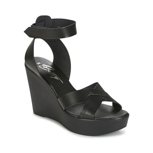 Chaussures Femme Sandales et Nu-pieds Betty London EXIBOLE Noir