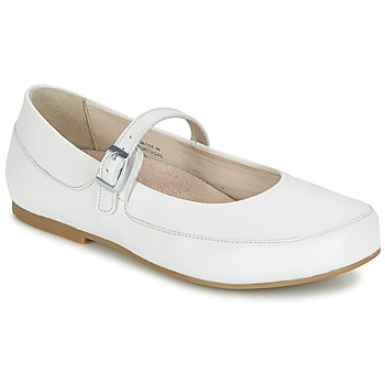 Chaussures Femme Ballerines / babies Birkenstock LISMORE Blanc
