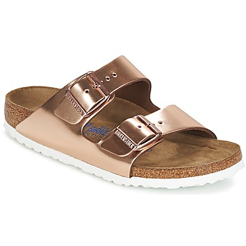 Chaussures Air max tnFemme Mules Birkenstock ARIZONA Doré