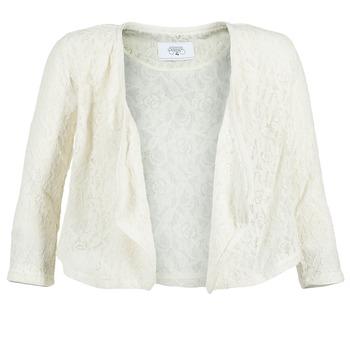 Vêtements Femme Vestes / Blazers Le Temps des Cerises ILONA Blanc